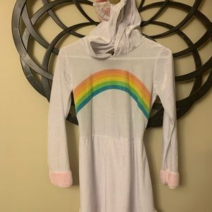 Size girls L unicorn costume